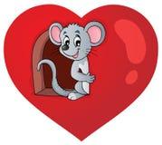 Valentine-themabeeld 3 Stock Afbeelding