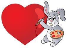 Valentine theme image 4 Stock Images