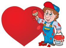 Valentine theme image 5 Royalty Free Stock Image