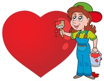 Valentine theme image 6 Royalty Free Stock Images