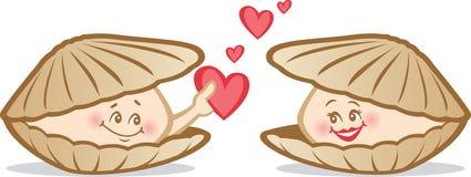 Valentine timide Photos stock