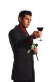 Valentine Toast Royalty Free Stock Image