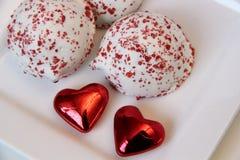 Valentine Treats royaltyfri fotografi