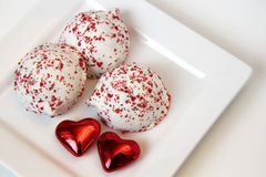 Valentine Treats Stock Photography
