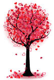 Valentine tree of hearts Royalty Free Stock Images