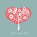 Valentine tree Stock Photo