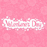 Valentine. Vector illustration with beautiful roses for Valentines day Royalty Free Stock Photography