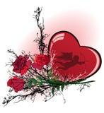 Valentine vector illustration Royalty Free Stock Photography