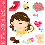 Valentine Vector Set Stock Image