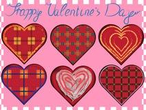 Valentine vector set Royalty Free Stock Photos