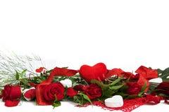 Valentine vermindert decoratie Royalty-vrije Stock Afbeelding