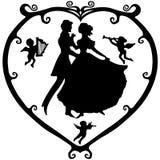 valentine Victoria royalty ilustracja