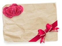 Valentine vintage card. EPS 10 Stock Image