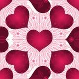 Valentine vintage seamless pattern Royalty Free Stock Photography