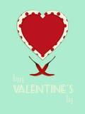 Valentine vintage spicy portrait background Stock Images