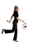 Valentine walk Stock Image