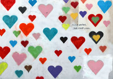 Valentine Wall Photo libre de droits