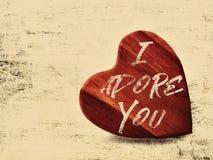 Valentine wall art Stock Photo