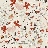 Valentine wallpaper. Seamless. Love. Romantic Royalty Free Stock Photo