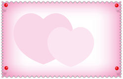 Valentine and wedding card Royalty Free Stock Images