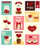 Valentine/Wedding card. Vector file EPS10 Royalty Free Stock Image