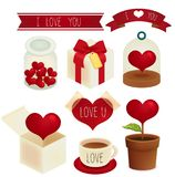 Valentine/Wedding  icon. Vector file EPS10 Stock Images