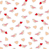 Valentine or wedding pattern Royalty Free Stock Photos