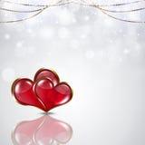 Valentine White Background Stock Photos