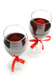 valentine wine Royalty Free Stock Photography