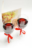 valentine wine Stock Photos