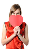 Valentine wish Stock Photos