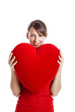 Valentine woman Royalty Free Stock Image
