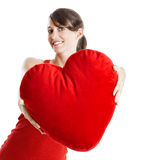 Valentine woman Stock Photography