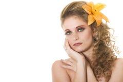 VALENTINE woman Royalty Free Stock Photo