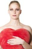 VALENTINE woman Stock Photo