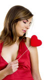 Valentine Woman Stock Image