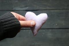 Valentine& x27 ; coeur de jour de s, vintage, style Photos brouillées pour le fond Photo libre de droits