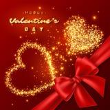 Valentine& x27; s dnia projekt Obrazy Royalty Free