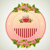 Valentinemblemkrus Royaltyfri Fotografi
