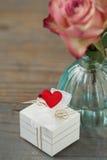 Valentinen ställer in Royaltyfri Fotografi