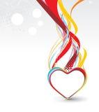 valentiner för bakgrundsdaggrunge royaltyfri illustrationer