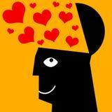 valentines влюбленности иллюстрации дня Стоковые Изображения
