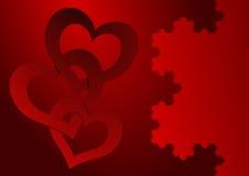 valentines дня карточки Стоковое Фото