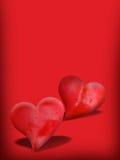 valentines дня карточки Стоковые Изображения RF