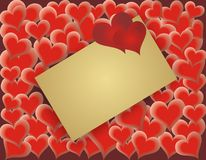 valentines дня карточки Стоковые Фото