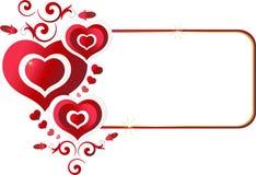 valentines дня карточки Стоковое Изображение RF