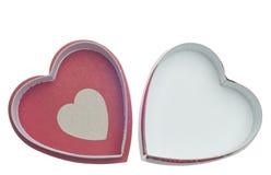 valentines дня конфеты коробки пустые Стоковые Изображения RF