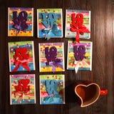 valentines дня предпосылки счастливые Концепция дня ` s валентинки Святого Смогите быть использовано на день валентинок торжеств Стоковое Фото