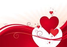 valentines дня предпосылки Стоковые Изображения