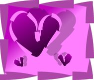 valentines дня предпосылки Стоковое фото RF